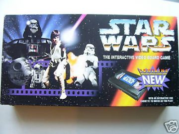 Star Wars Interactive Video  Board Game